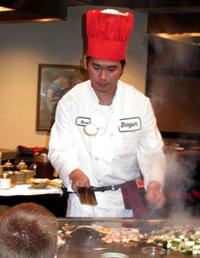 Shogun Japanese Steak House at Rosen Inn